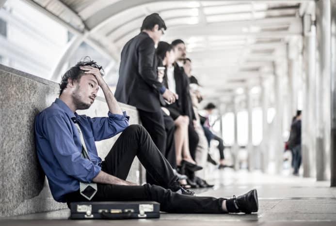 dåliga vanor när de stressas