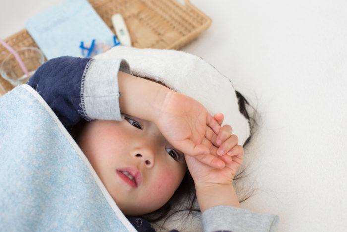 näsblod och huvudvärk